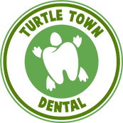 turtle town dental logo